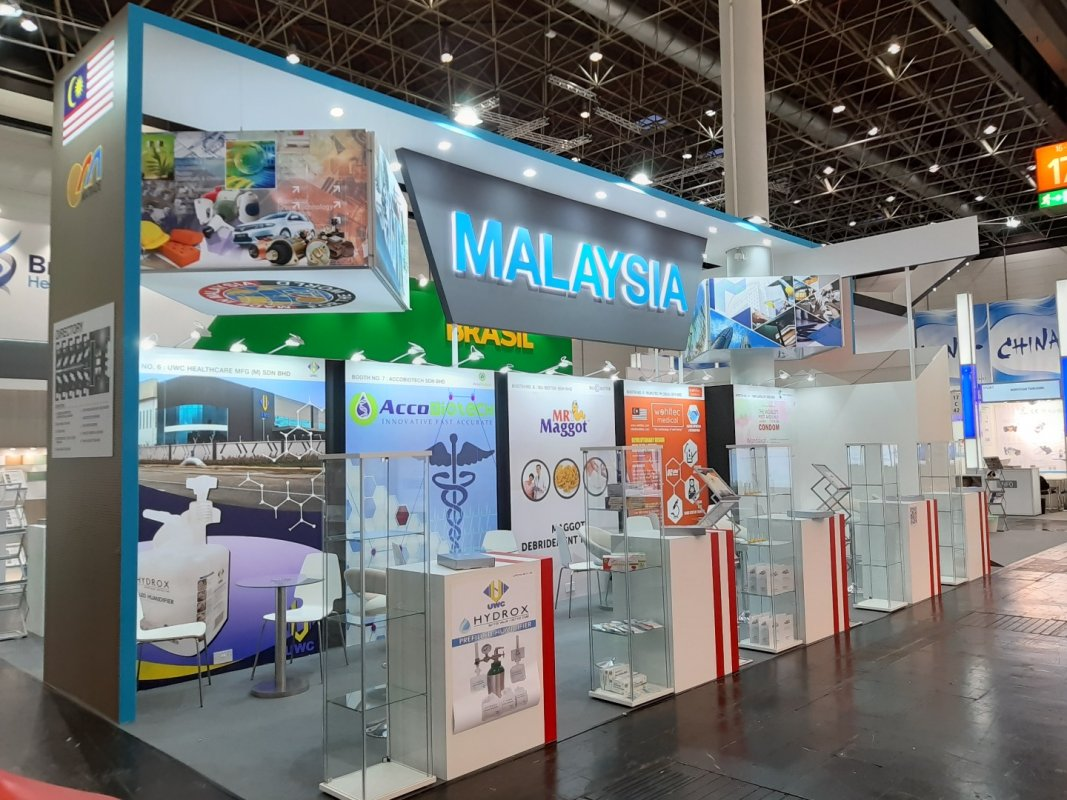 Malaysia Pavilion - Medica Düsseldorf 2018 | mk-expo